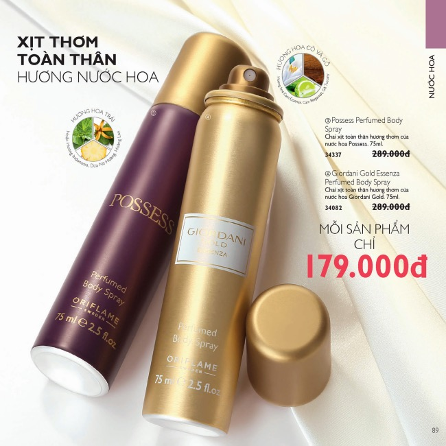 catalogue oriflame thang 1 2020