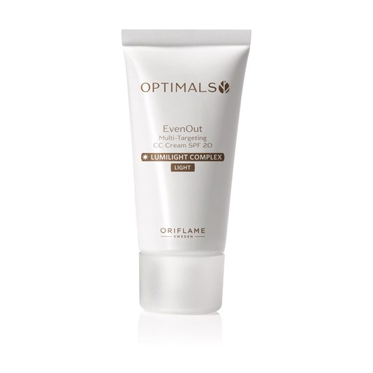 kem nền CC Oriflame Optimals Even Out Multi Targeting CC Cream SPF 20 32973 (2)