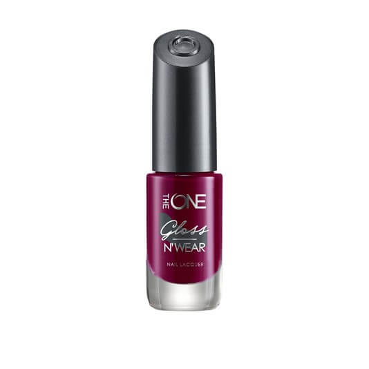 35570 oriflame - Sơn móng tay Oriflame The One Gloss N' Wear Nail Lacquer - Màu Ruby Rouge