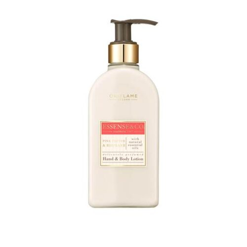 35143 oriflame - Sữa dưỡng thể Oriflame Essencse&Co. Pink Pepper & Rhubard Hand & Body Lotion - 300ml