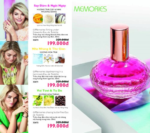 catalogue my pham oriflame thang 9 2017